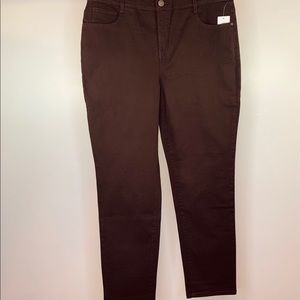 Style & Co Plus High Rise Tummy Control Jeans 16